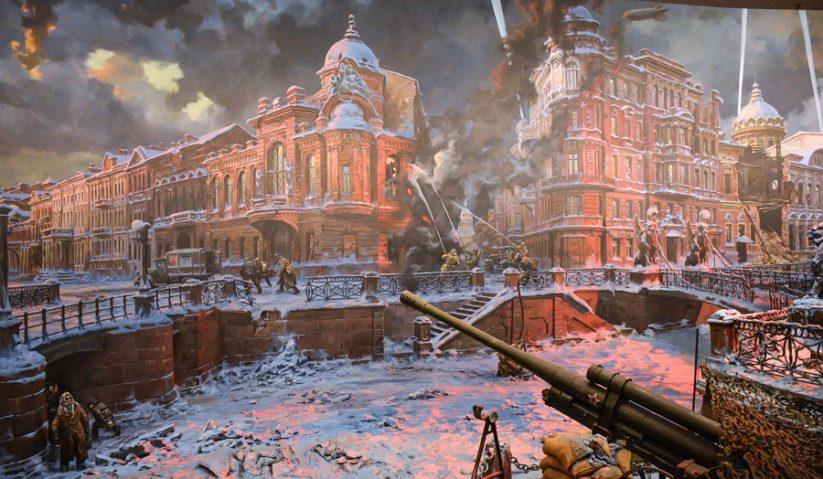 Leningradská blokáda Nina Sokolova
