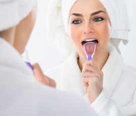 škrabka na jazyk