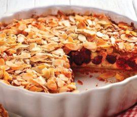 Čerešňový koláč letné zákusky